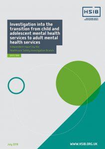 HSIB investigation report mental health
