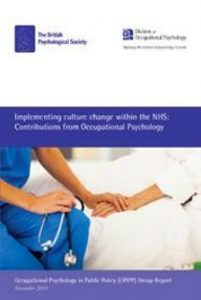 culture change within the nhs